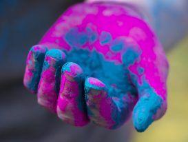Holi skin care for kids